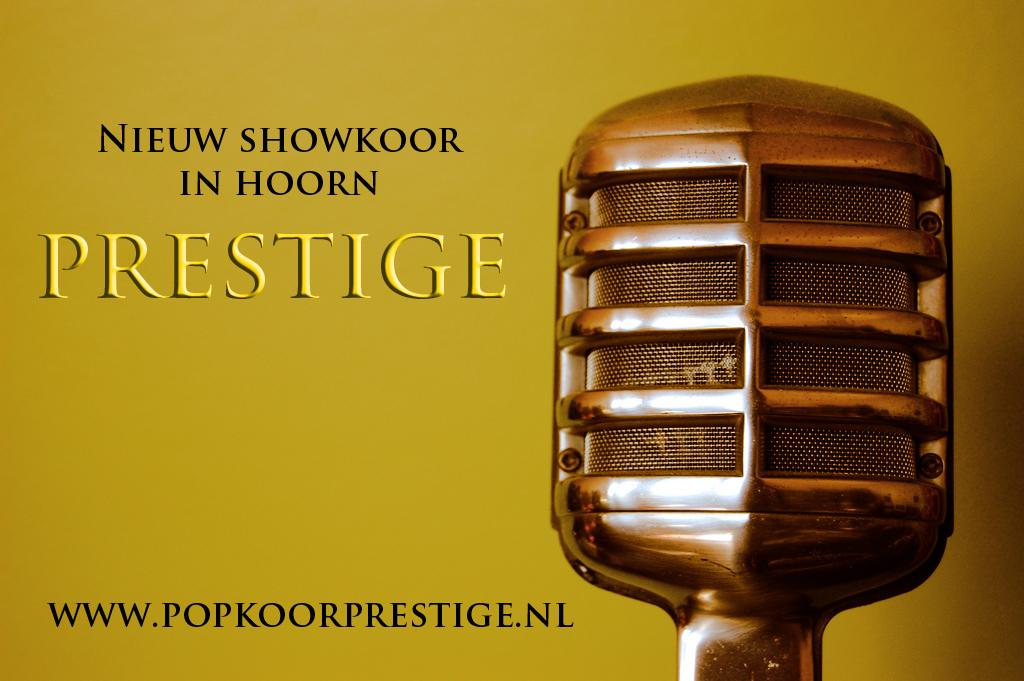 Nieuw Showkoor!