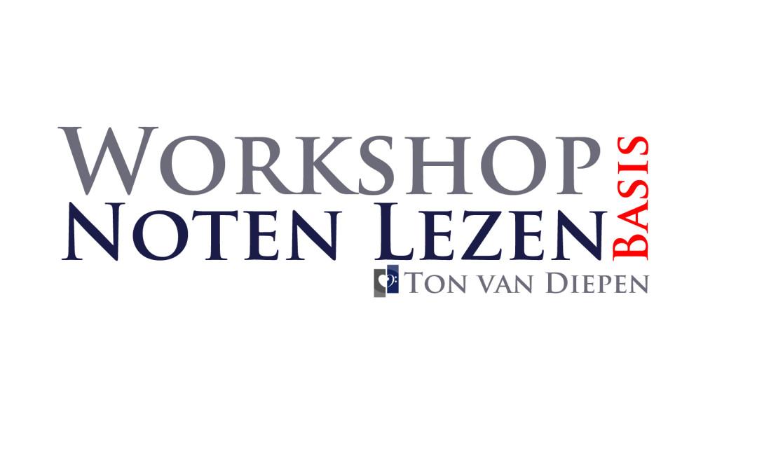 Workshop Noten Lezen (basis) voor koor
